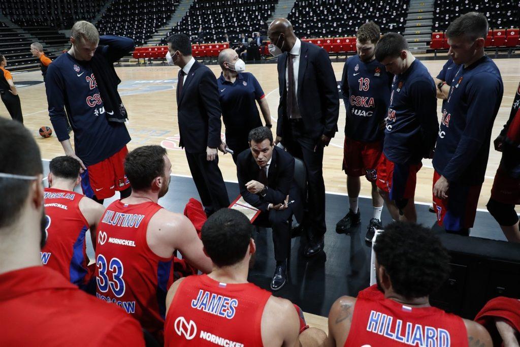 CSKA Mosca 2020-21 Dimitris Itoudis
